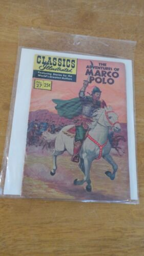 Classics Illustrated #27 THE ADVENTURES OF MARCO POLO
