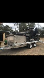 Toyhauler, camper car trailer bikes qauds utvs Singleton Singleton Area Preview