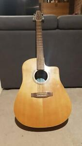 Seagull S6 CW Mahogany Natural Acoustic Guitar Kingswood Penrith Area Preview