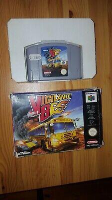 Vigilante 8 Mit OVP Nintendo 64 PAL VERSION N64 Retro Klassiker