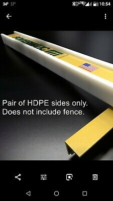 Brand New Model 66 Fence Sides For Powermatic Tablesaw Fence With New Hardware
