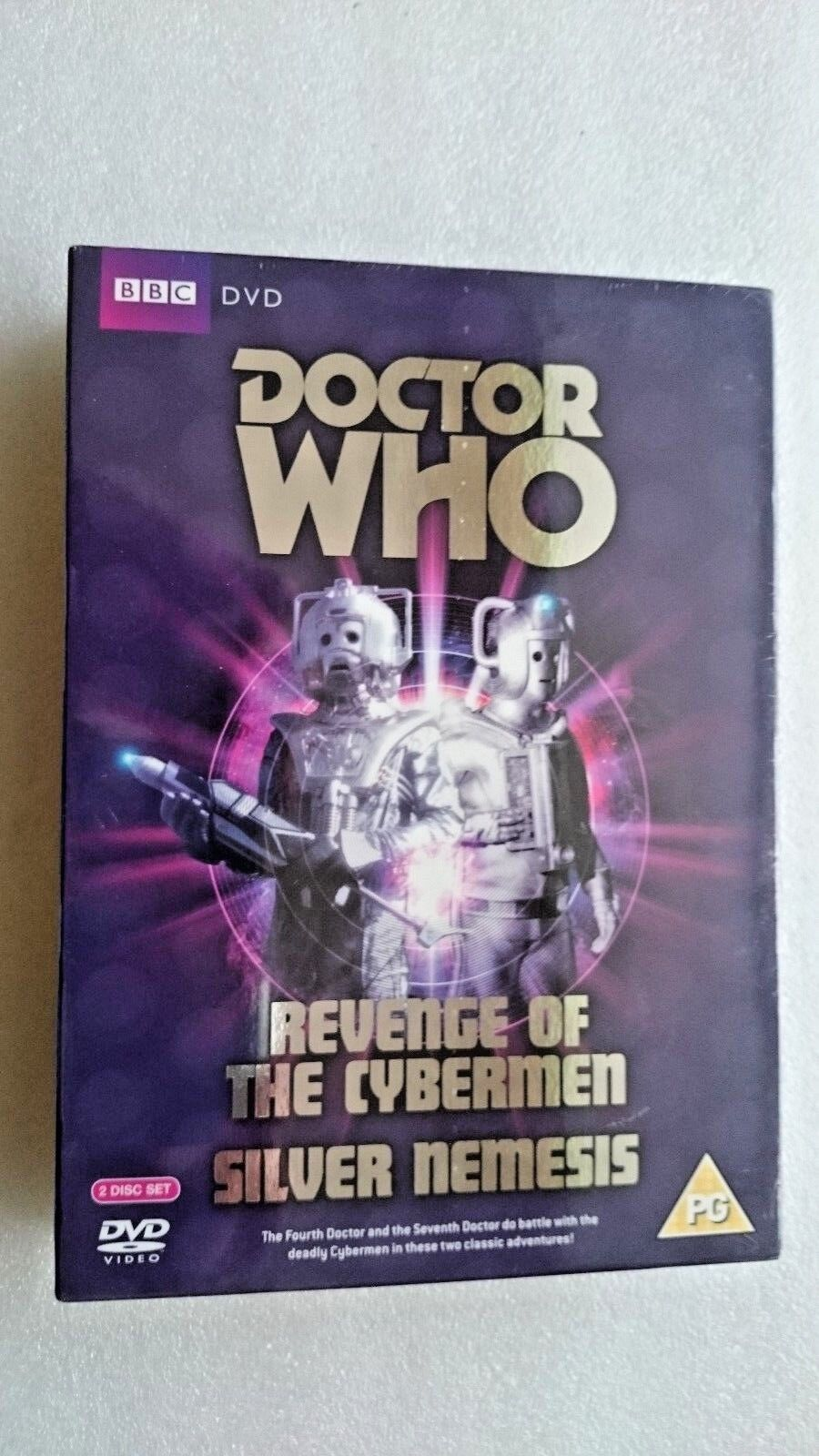 Doctor Who - The Cybermen Collection (DVD, 2010, 2-Disc Set) - NEW and SEALED