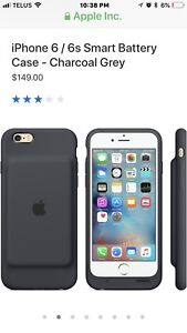 Apple - Iphone 6S / Charging Battery Case
