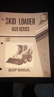 Gehl Skid Steer Loader 6620 Service Parts Manual