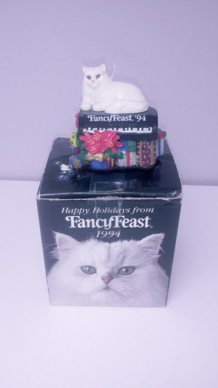 Fancy Feast 1994 Holliday ornaments