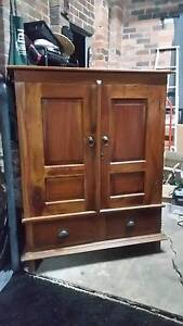 ANTIQUE SOLID WOOD CABINET MUST GO THIS WEEKEND!!! Petersham Marrickville Area Preview