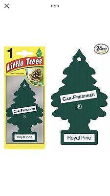 Little Trees Royal Pine Scent Tree Air Freshener- 24 Pack 🔥🔥 BEST