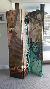 Large 3 Panels Paris / Eiffel and new Tower Room Divider / Screen Craigieburn Hume Area Preview
