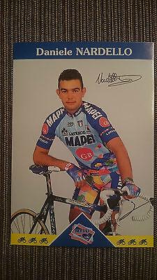 AK m.Druck.AG Daniele Nardello Team Mapei 1997 Rarität