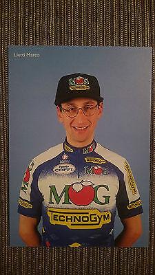 AK o.AG Marco Lietti Team MG 1995 Rarität