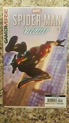 Marvel Comics Gamerverse Spider-Man Velocity #1 2nd Print Variant