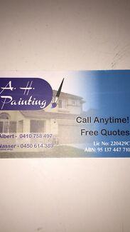 A.H house painter