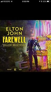 ELTON JOHN Tickets - Looking to switch nights with someone.