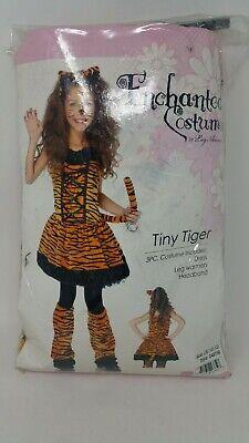 Enchanted Costumes By Leg Avenue Tiny Tiger Large 10-12 3 Piece Dress Leg Head ()