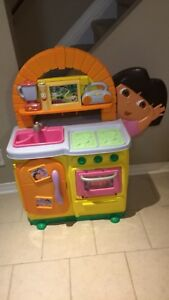 Dora play kitchen