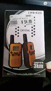 Hand held 80 channel UHF CB radios (2) Bolwarra Maitland Area Preview
