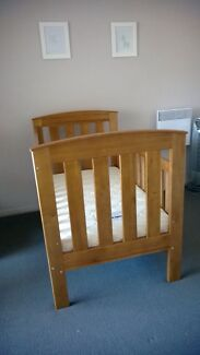 Cot, Mattress and Change Table Jerrabomberra Queanbeyan Area Preview