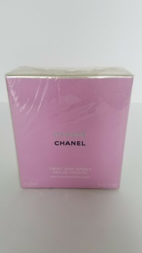 Chanel Chance Twist And Spray Eau De Toilette Mini Vaporisateur Spray 3 X 7 Fl