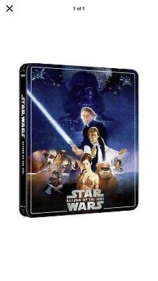 Star Wars Return Of The Jedi 4K UHD ZAVVI EXCLUSIVE Steelbook 3 Disc Edition PRE