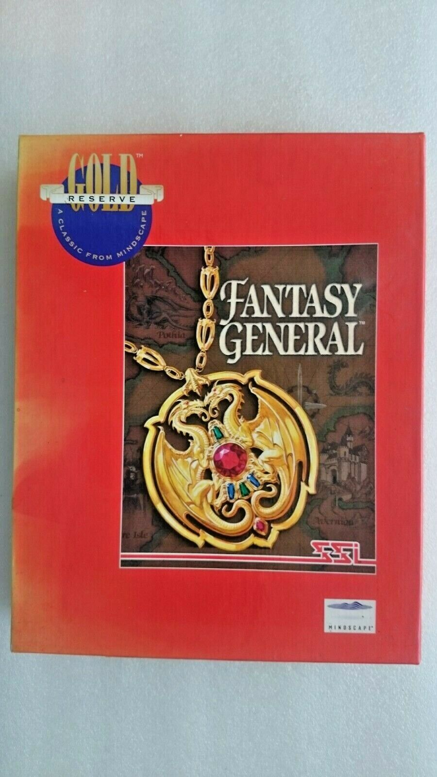 Fantasy General (PC Windows 1995) - Big Box Edition