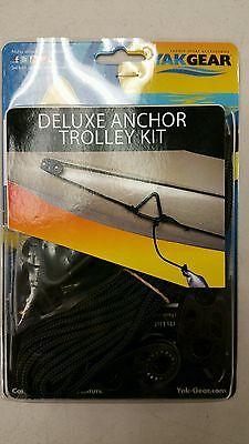 Canoe Kayak Kits - Yak Gear Deluxe Pulley Canoe Kayak Anchor Trolley Kit