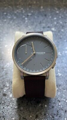 Skagen SKT1110 Men's Connected Leather Strap Hybrid Smart Watch