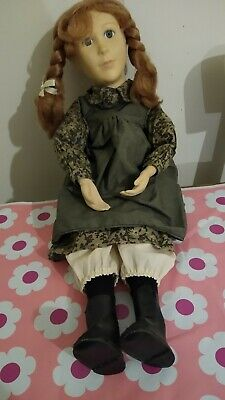 Vintage beautiful Anna Of Green Gables Doll Made By Yvonne Richards 1989