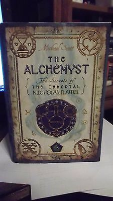 Immortal Nicholas Flamel Ser   The Alchemyst Signed 1St 1St Rare Hard To Find