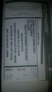 Red Hot Summer Tour GA ticket