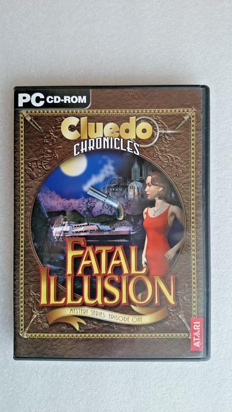 Cluedo  Chronicles - Fatal Illusion  (PC Windows  2004) - Original Release