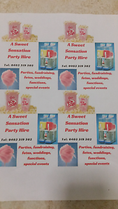 *Fairy Floss*Popcorn *Slushy Machines For Hire Ocean Reef Joondalup Area Preview