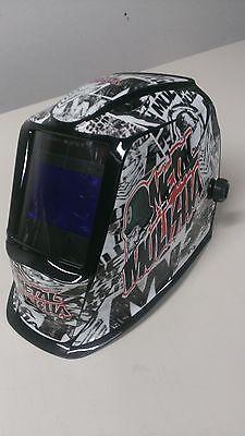 Lincoln Viking 2450 3350 Schweißen Jig Helm Umwickeln Aufkleber Abziehbild Felle Schweißen Helm Aufkleber