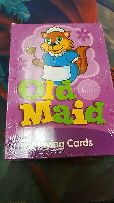 Old Maid - Homeware Children's Card Games New Big Easy to Wipe Clean!
