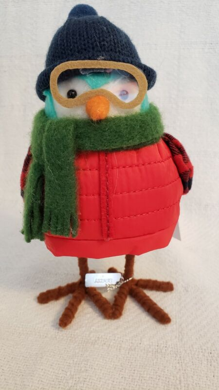 Wondershop Target Featherly Friends 2020 Rocky Glasses Jacket Green Scarf NWT
