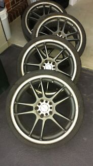 18inch rims and tyres for sale. Lenso. $480ono Cecil Hills Liverpool Area Preview