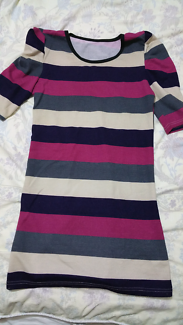 Striped Dress size Small