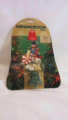 ENESCO Ornamotion PLUS Ornament Spinners 1992 Ornamotor Christmas Holiday Tree   - Christmas Ornament Spinners