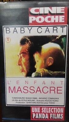 Lone Wolf: Baby Cart To River Styx VHS. Panda Films. Martial Arts Movie for sale  Saddle Brook