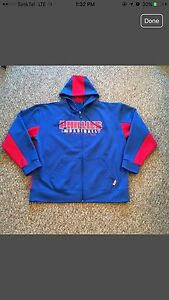 "LIKE NEW PHILLIES ""THERMA BASE"" ZIP UP HOODED JACKET! SIZE XXL"