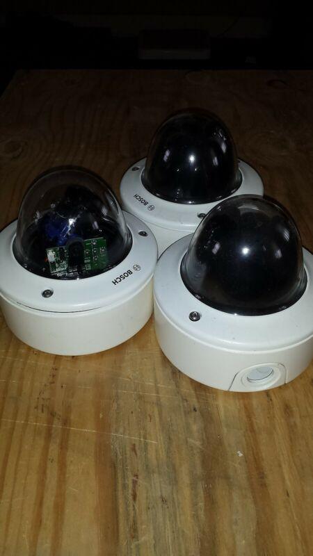 3x Bosch flexidome cameras