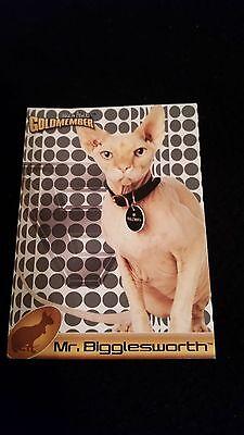 AUSTIN POWERS GOLD MEMBER CARD  MR. BIGGLESWORTH CAT