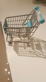 Mini novelty shopping trolley