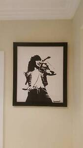 Painted Picture of Ronald Bon Scott Richmond Hawkesbury Area Preview