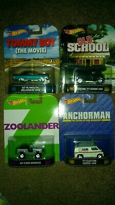 Hot Wheels retro funny movies lot (Hot Funny Movies)