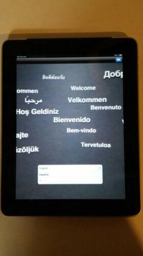 Apple iPad 1st Gen. 32GB, Wi-Fi, 9.7in - Black and Silver