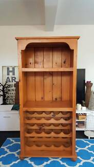 Solid Pine Buffet Hutch⁄Wine Rack Stafford Heights Brisbane North West Preview