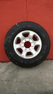 Ford Super Duty Tires on Rims (New)