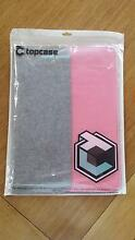 Brand new 13 inch pink and grey felt laptop case Toorak Stonnington Area Preview