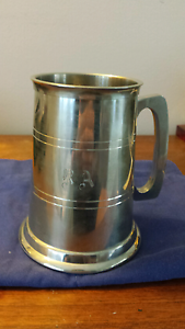 "Pewter Tankard with ""RA"" Initials Cromer Manly Area Preview"