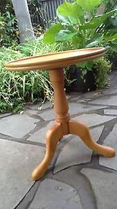Hand turned round coffee or side  table Payneham South Norwood Area Preview